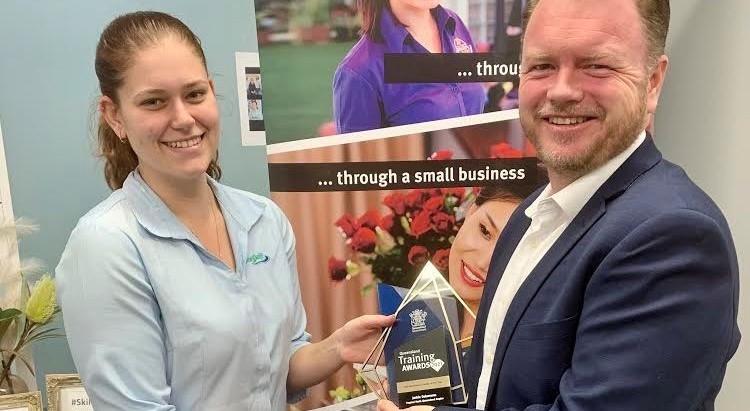 Jadzia named top trainee in Far North Queensland