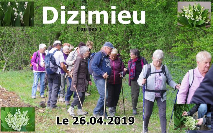 DIZIMIEU (sortie muguet ) Le 26/04/2019