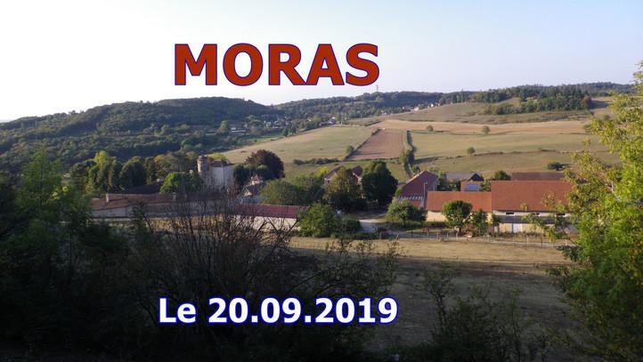 MORAS Grande marche Le 20/09/2019