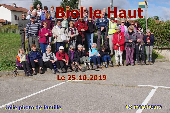 BIOL le HAUT [ Le 25/10/2019 ]