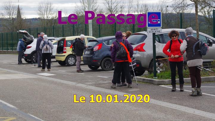 Le Passage  Le 10 janvier 2020