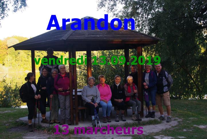 ARANDON [ Le 13/09/2019 ]