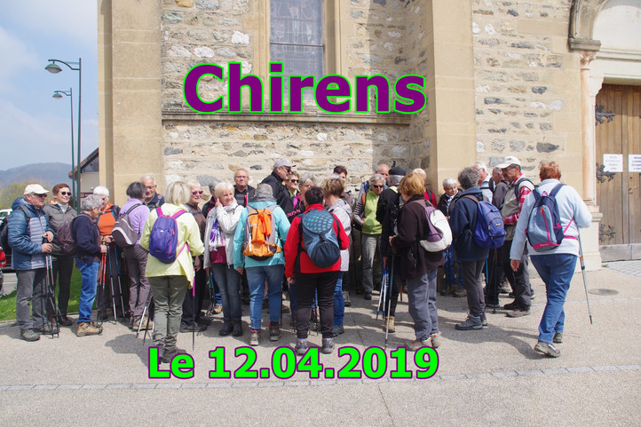 Chirens [ Le 12/04/2019 ]
