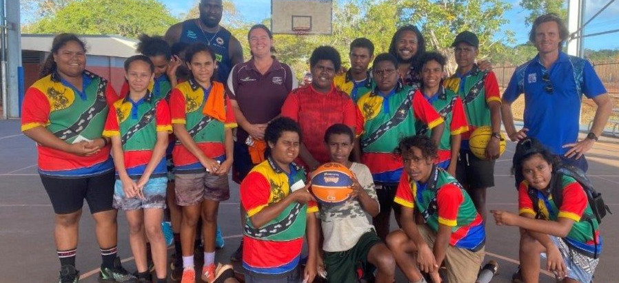 Taipans Indigenous Program visits Cape and Torres Strait