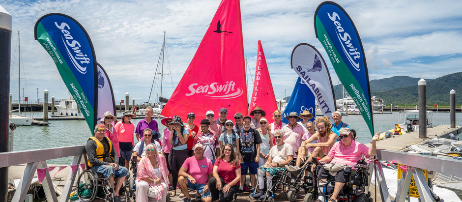 New boat makes sailing more accessible for people with disabilities