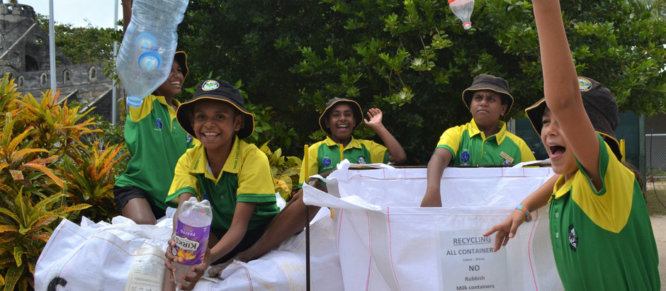 Sea Swift helps Torres Strait students raise $25k in recycling initiative