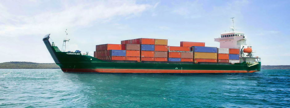 Sea Swift begins new international shipping service between WA and Singapore