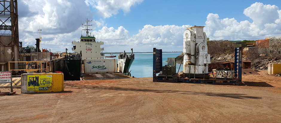 Sea Swift helps restore space exploration history on Gove Peninsula