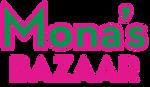 Mona's Bazaar logo.png