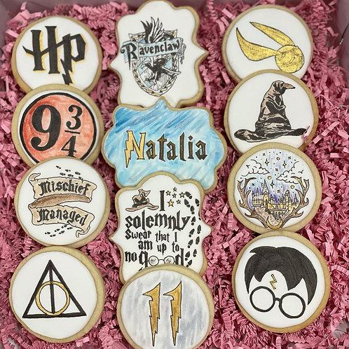 Harry Potter Sugar Cookies - 1 Dozen
