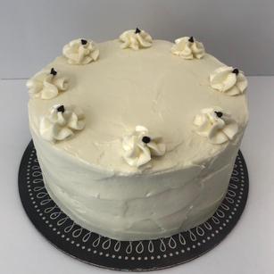Chocolate Cake with Cream Cheese Icing