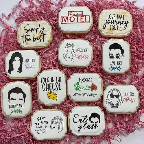 Schitts Creek Sugar Cookies - 1 Dozen