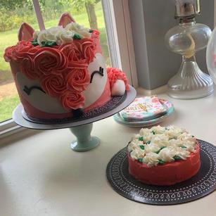 Fox Cake & Smash Cake