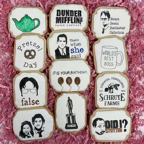 The Office Sugar Cookies - 1 Dozen