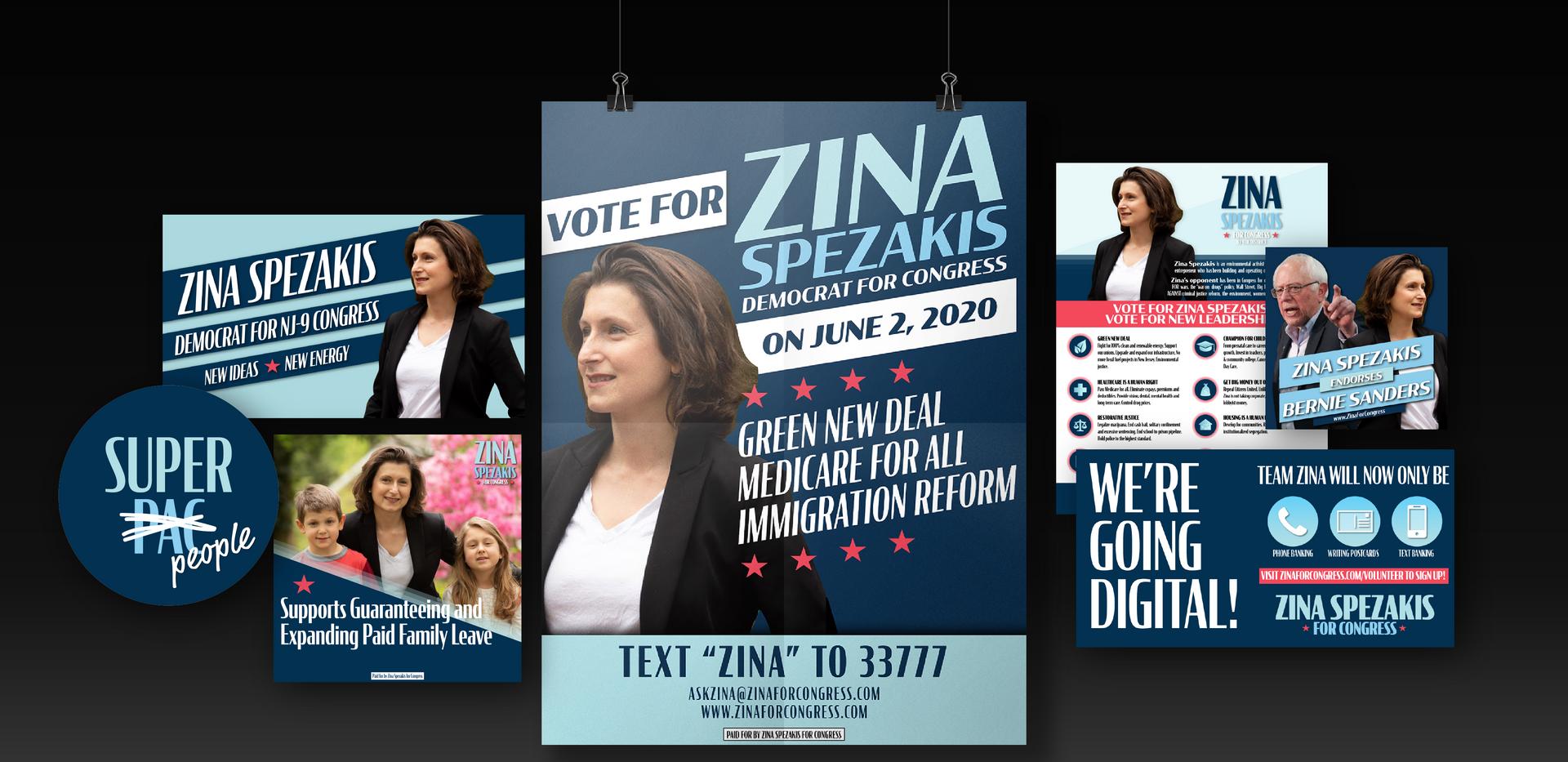 Zina Spezakis for Congress