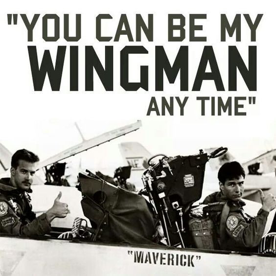 Looking for a Wingman