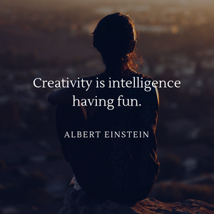 creativity is all about listening to your inner voice and sometimes means you need to find yourself by block people out.