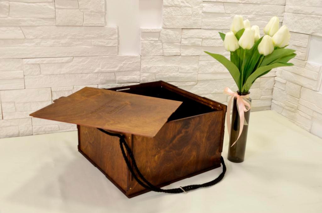 Подарочная упаковка для вазы