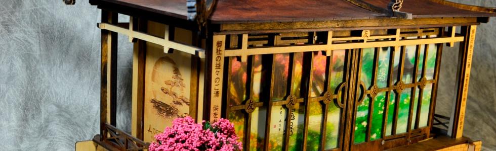 """Японская будка. Подарочный набор серии """"Вокруг света""""для туристической отрасли"""