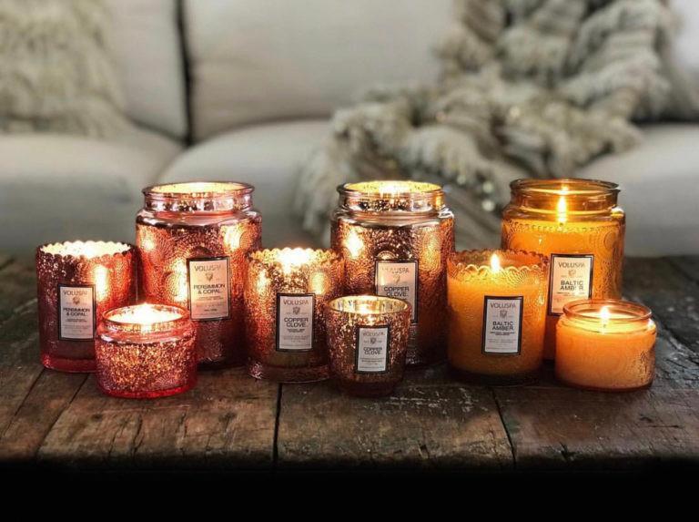 Арома-свечи для интерьера