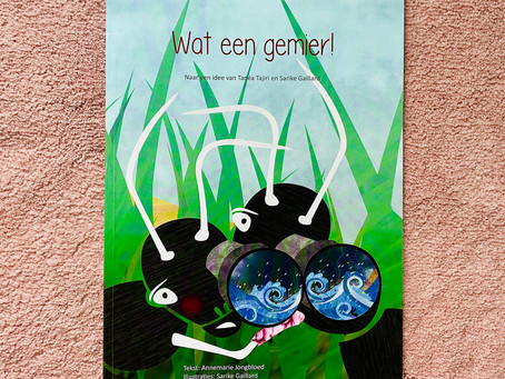 """""""Wat een gemier!"""" (Dutch title) - A picture book about cultural diversity"""