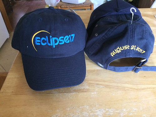 2017 Solar Eclipse Commemorative Hat