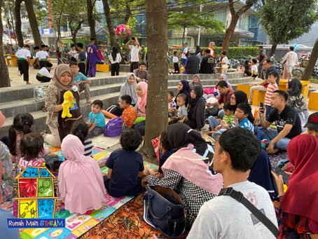 Berakhir Pekan Seru di Taman Puring karena #bikinbikinditaman