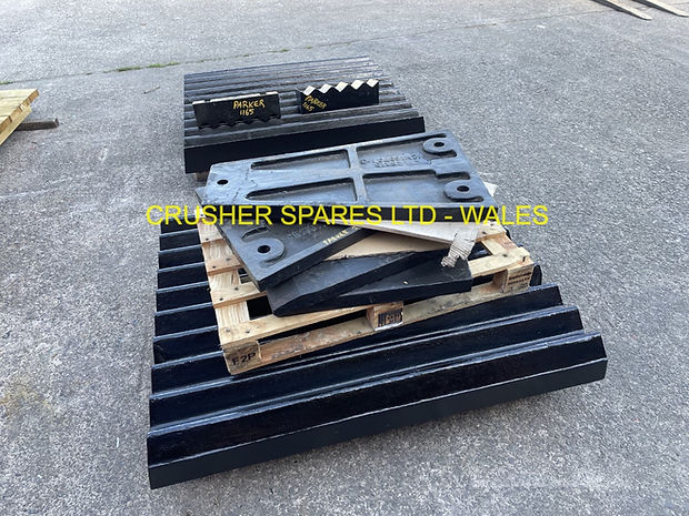 PARKER JAW CRUSHER SPARES