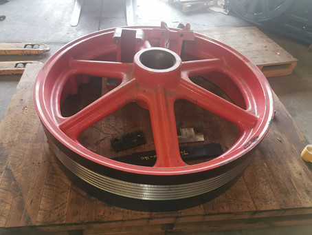 CSL manufactures complete flywheel assembly for old Brown Lenox Kue-Ken 150-160.