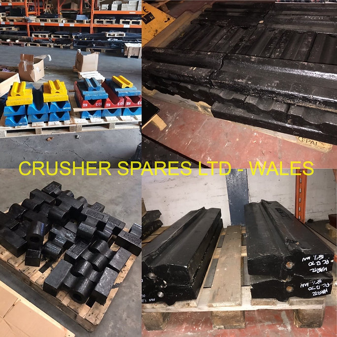 IMPACTOR CRUSHER SPARES, IMPACTOR CRUSHER PARTS, BLOW BARS, HAMMERS, GRINDING LISTS, APRON LINERS
