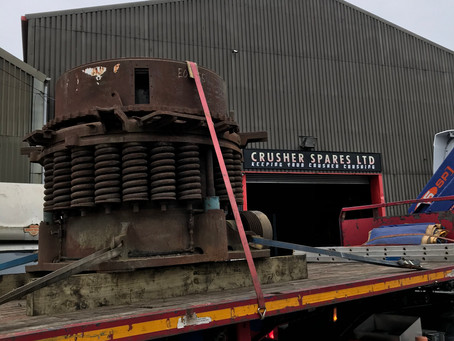 CSL sells Brown Lenox Kue-Ken 1000 Medium Course Cone Crusher into Northern Ireland.