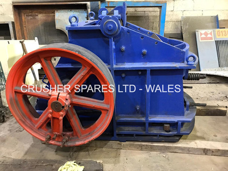Crusher Spares purchase used Kue-Ken 56 Jaw Crusher.