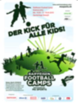 Flyer Raiffeisen Football Camp Rothrist