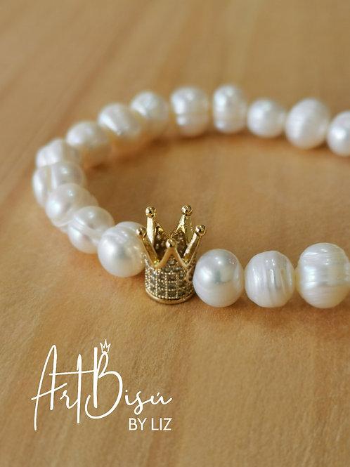 Pulsera Windsor perlas