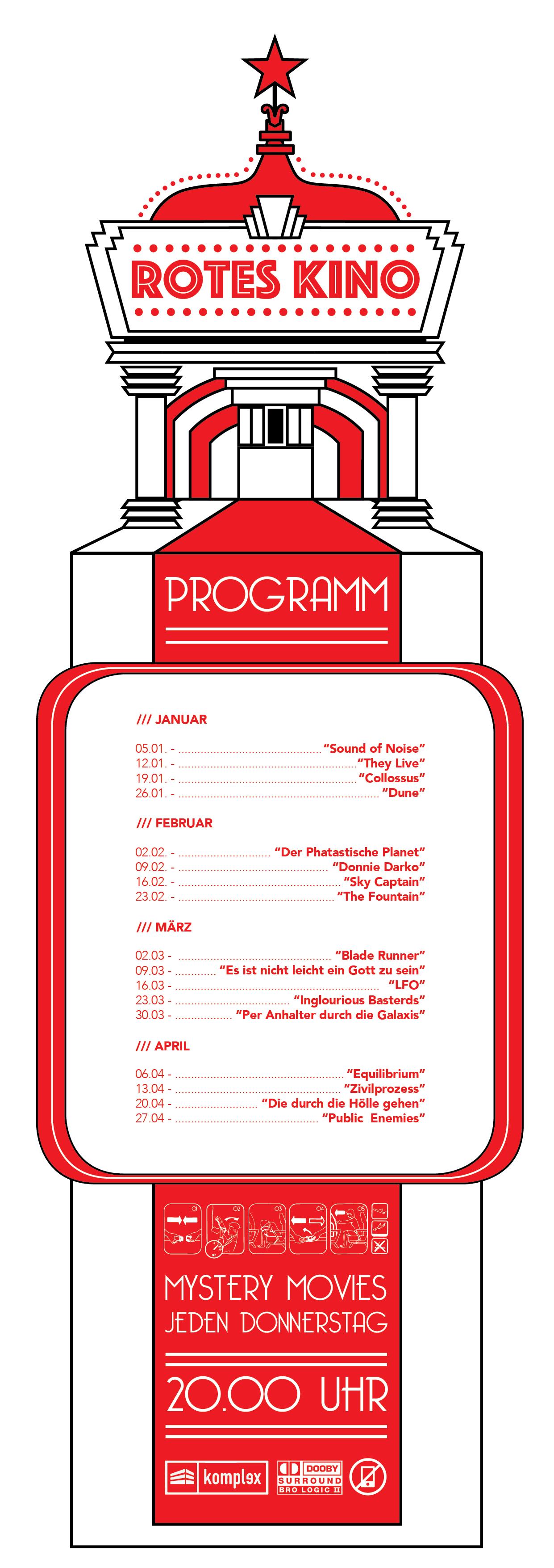 Aushang /// Programm