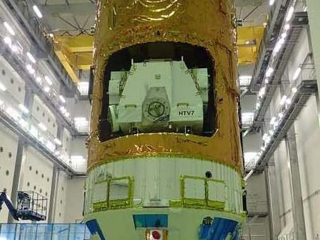 2018/09/23 超小型人工衛星STARS-Meを搭載した「こうのとり7号機」が無事に打ちあがりました。