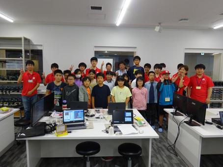 2019/09/14 木村(尚)教授らが本学でひらめき☆ときめき サイエンス 『デジタルアートモノづくり講座 ~ マイコンでオリジナルの電子楽器を作ろう ~』を開催しました。