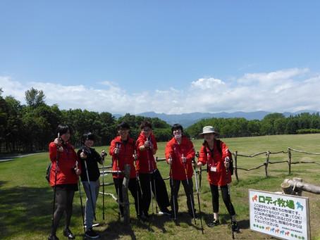 2019/6/25 道尾講師とゼミ生が手稲の歩くイベントに参加協力しました