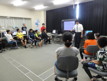 2019-07-21 木村尚仁研究室が,今年も猿払村の小学校でプログラミングの授業を行ってきました。