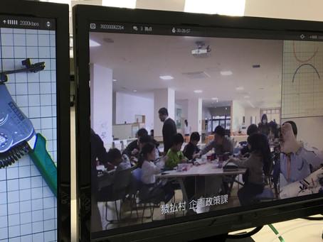 2019/01/09 猿払村の子供たちを対象に遠隔モノづくり教室を実施しました