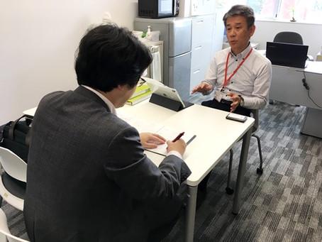 2019/08/26 一戸昌則准教授が北海道新聞の取材を受けました。