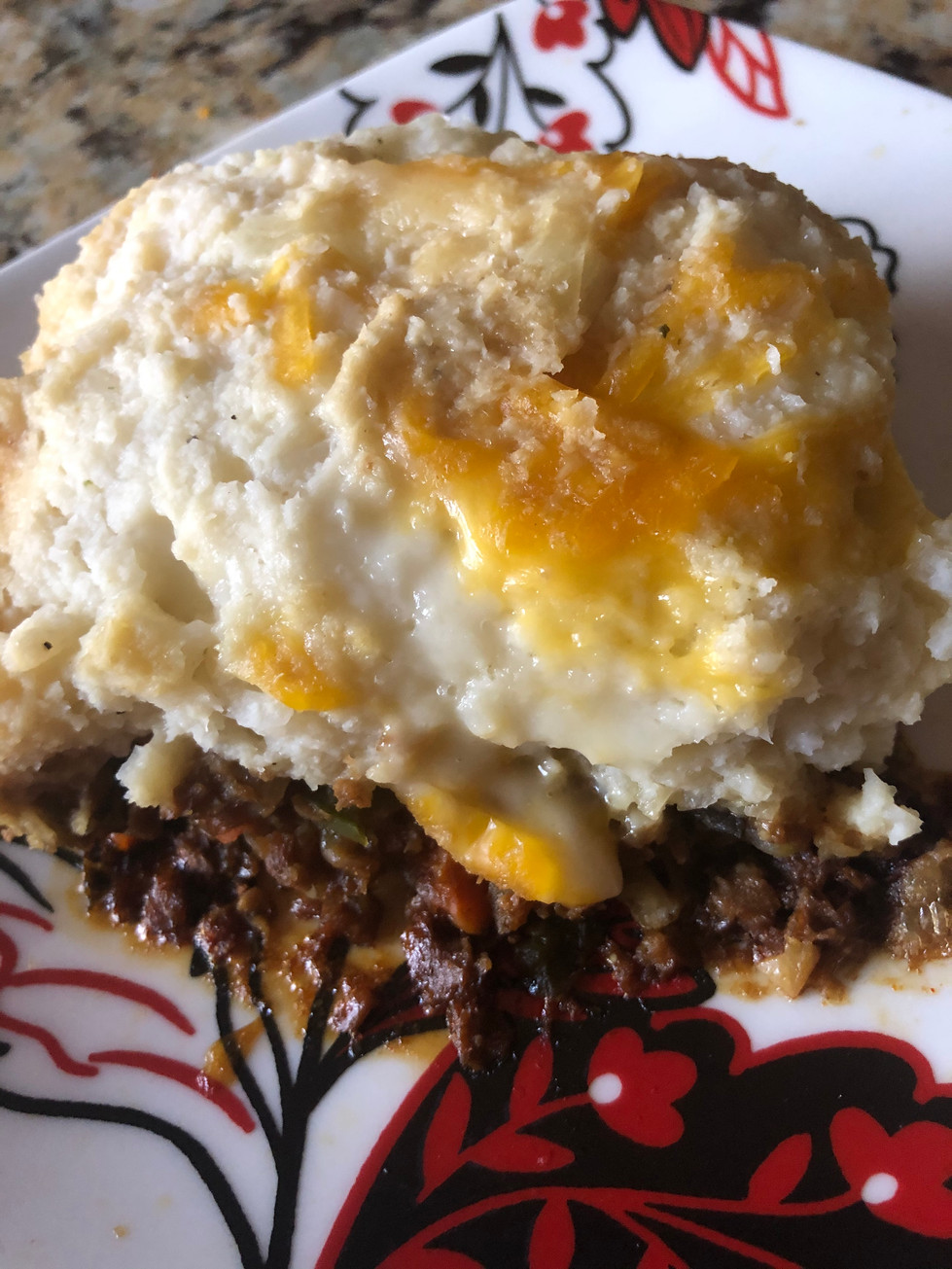 Vegan Shepard's Pie W/ Cauliflower Mash!!