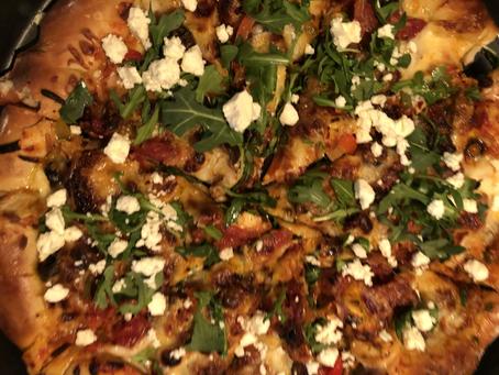 Gourmet Style Stuffed Crust Veggie Pizza !