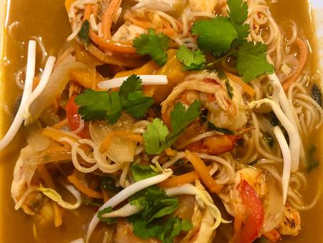 Spicy Shrimp Ramen!