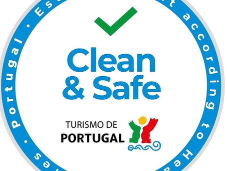 "Clean and Safe Establishment"" Seal for Portugueses Tourism companies"