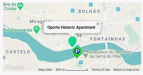 Mapa Google Apartamento parque