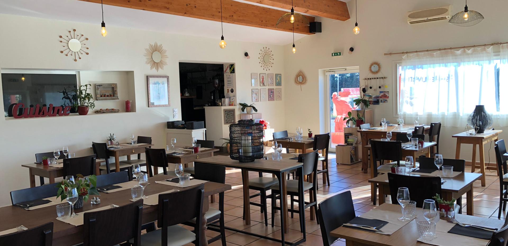 Salle du Restaurant Pizzéria du Fort de Salses