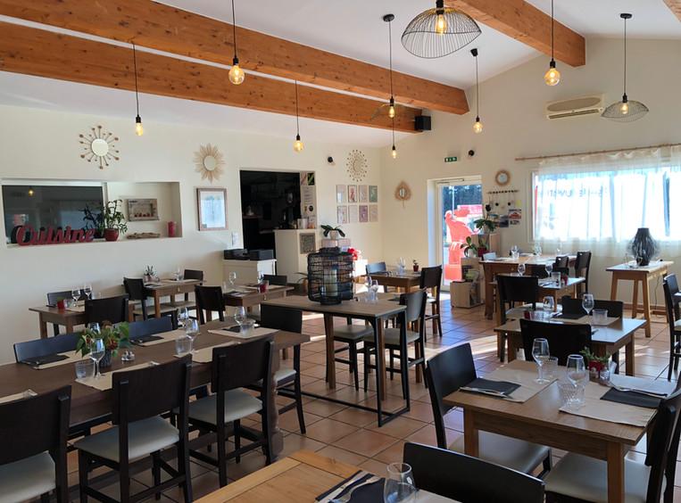 Sala del Restaurante Pizzería Fort de Salses