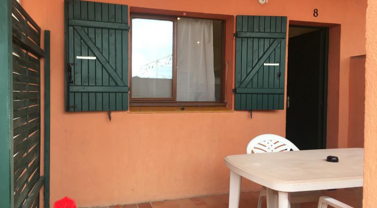 Terraza de la habitación 5 del Hotel La Casa Nova