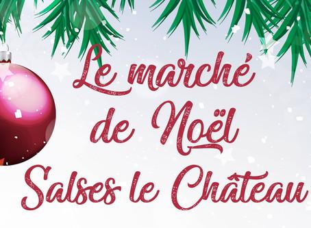 MARCHÉ DE NÖEL À SALSES LE CHÂTEAU